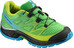 Salomon Wings Shoes Juniors peppermint/black/scuba blue